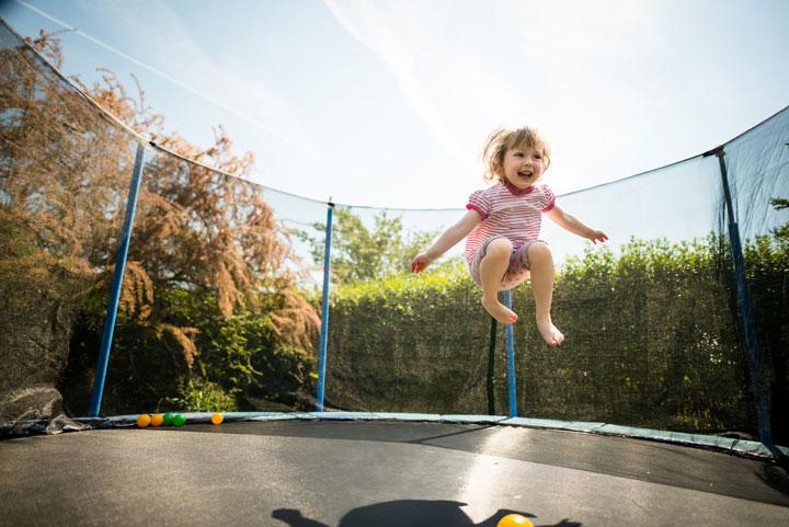 Ist Ein Garten Trampolin Gegen Sturm Versichert